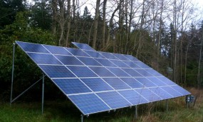Ground-mounted PV system